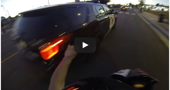 This Biker starts shit with the Cops, Then tries to escape and crashs SMH…. Talk about instant karma lol. Comments comments