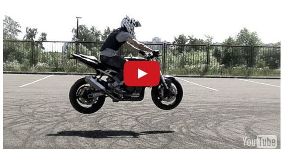 Some motorcycle stunts and Dubstep by DotExe. Comments comments