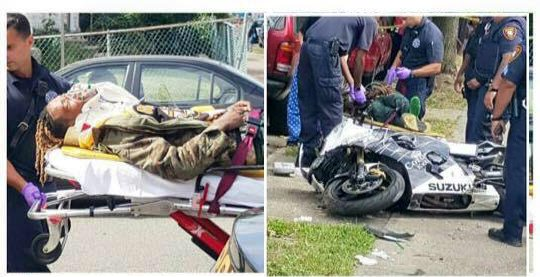"""It's reported that Fetty Wap was hit by a car while riding around in his new motorcycle. Thankfully it wasn't the one that was custom built for him by Gas Monkey Garage, on the afternoon of September 26 2015 in his native Paterson New Jersey. According to TMZ, the """"Trap […]"""