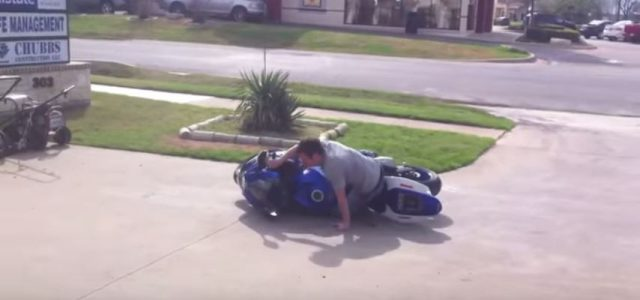 The Slowest Motorcycle FAIL More pictures @http://www.blackbikeweek.us/pictures/2015/ Comments comments